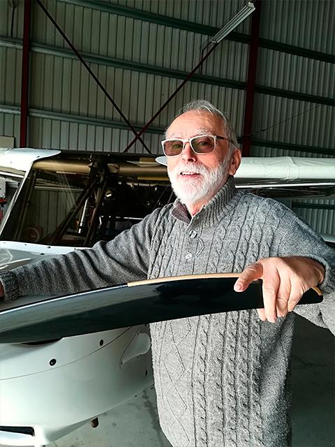 Pierrot - Mécanicien avion UlM Montauban